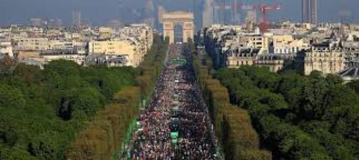 Paris Marathon 4h30-5hr15