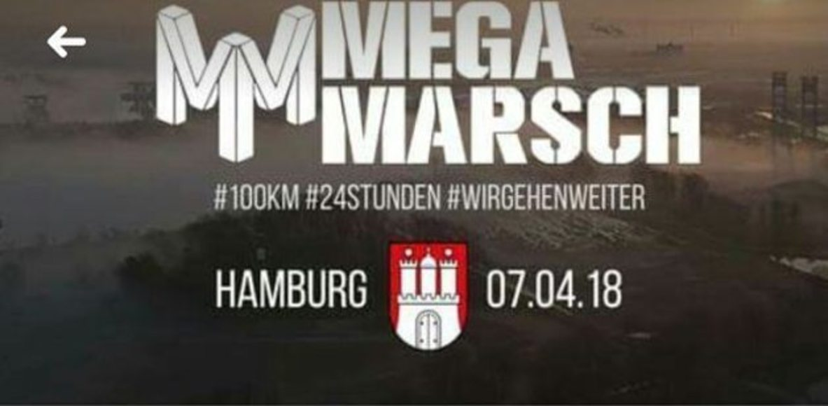 Megamarsch Hamburg