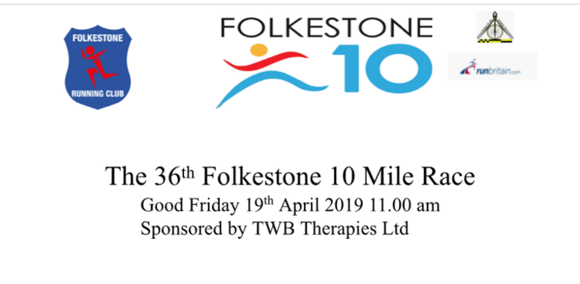 36th Folkestone 10 (19th April 2019)