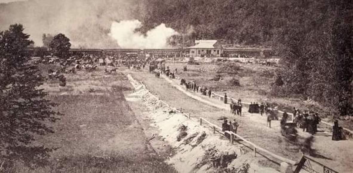 Ghost Train Rail Trail Race