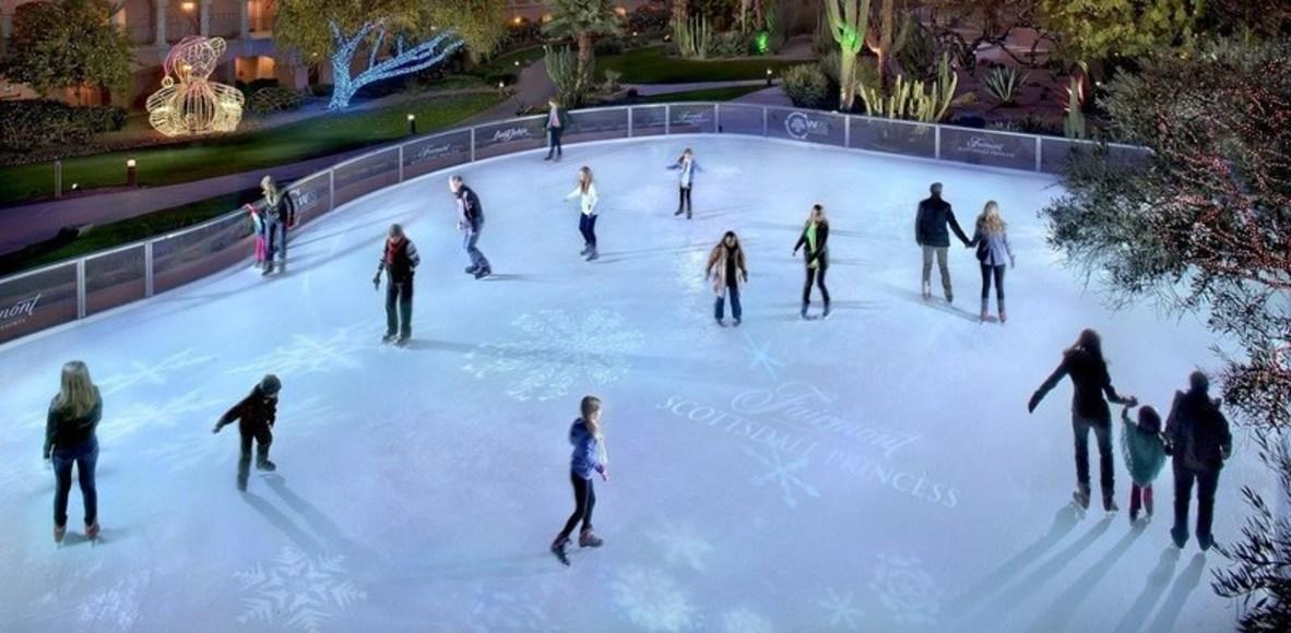 Snowflakes - Ice Skate Lovers