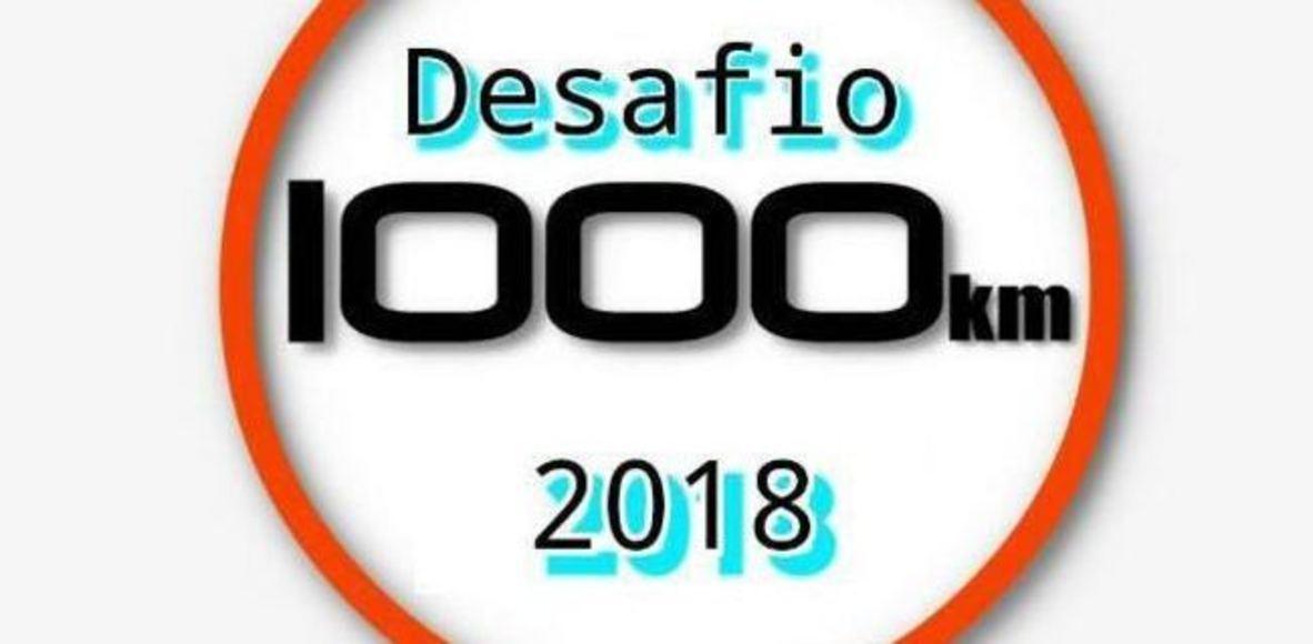 Desafio 1000 Km em 2018