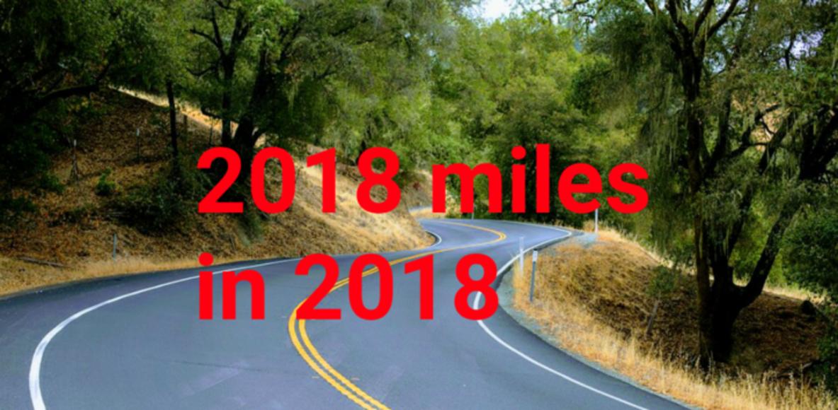 2018 miles in 2018