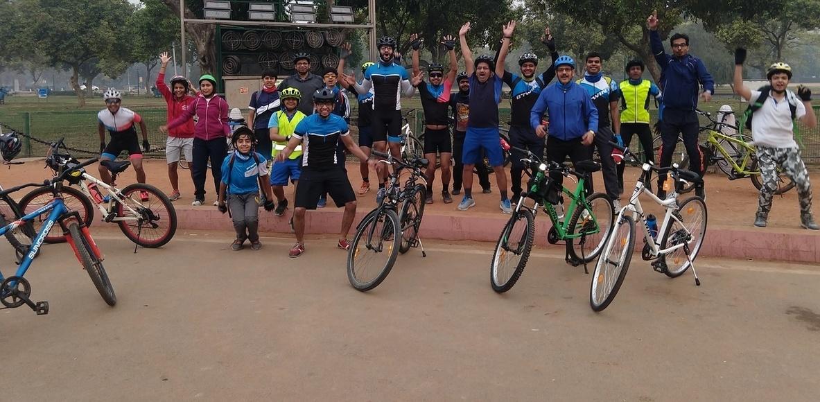 Delhi on Pedals
