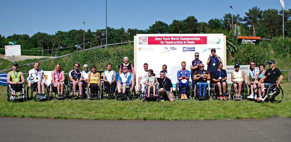 Handcyclists RhineMaas