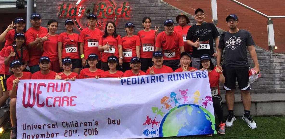 Pediatric runner Bali