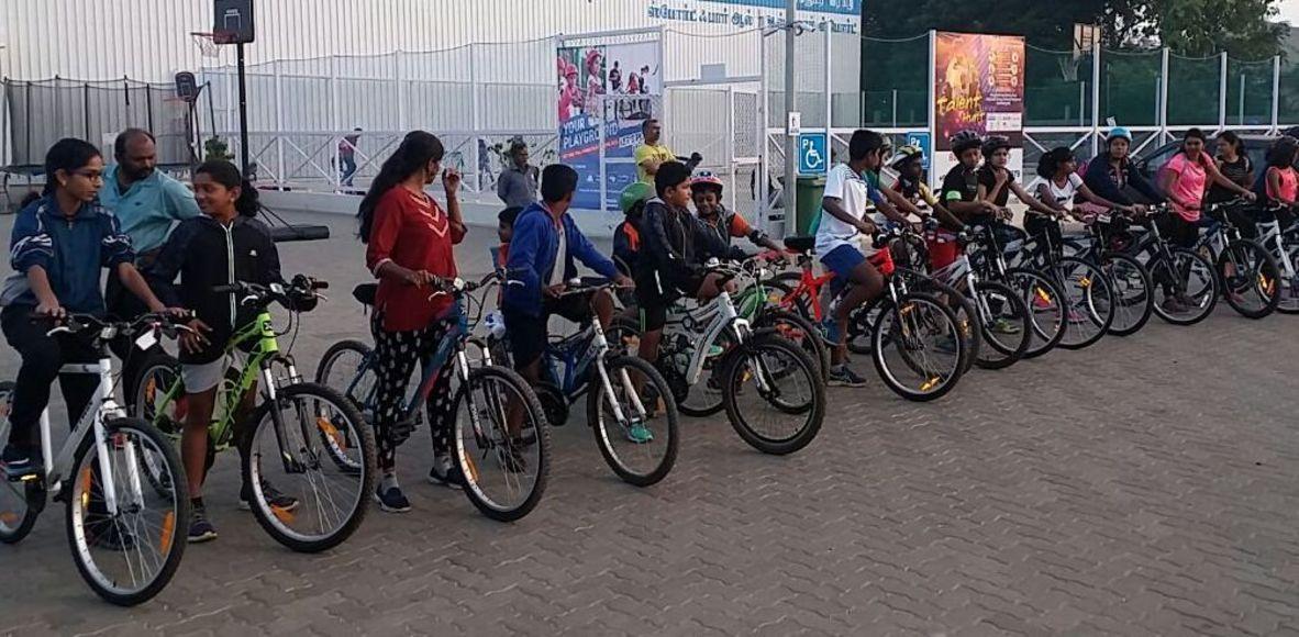 Cycling community - Decathlon Mogappair