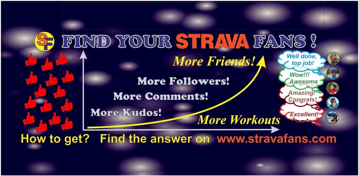 Find Your Strava Fans!