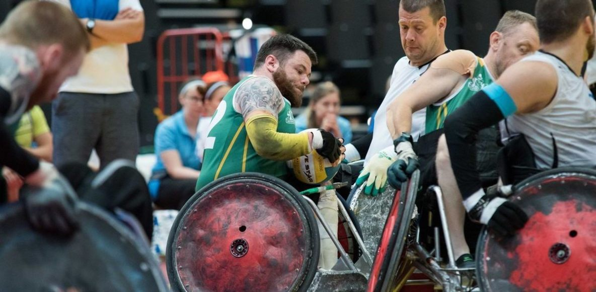 M2M 2018 for Irish Wheelchair Rugby