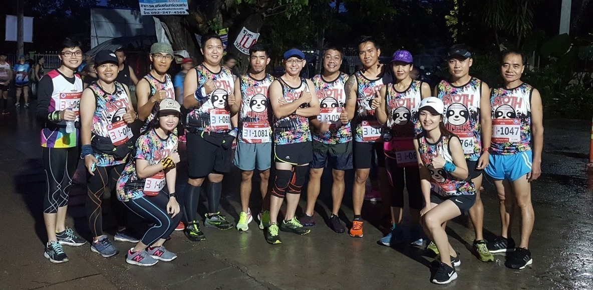 Khonkaen sloth running team