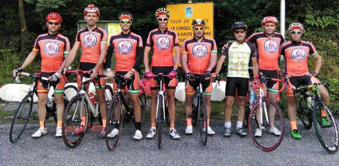 Peña ciclista los Pulmonias