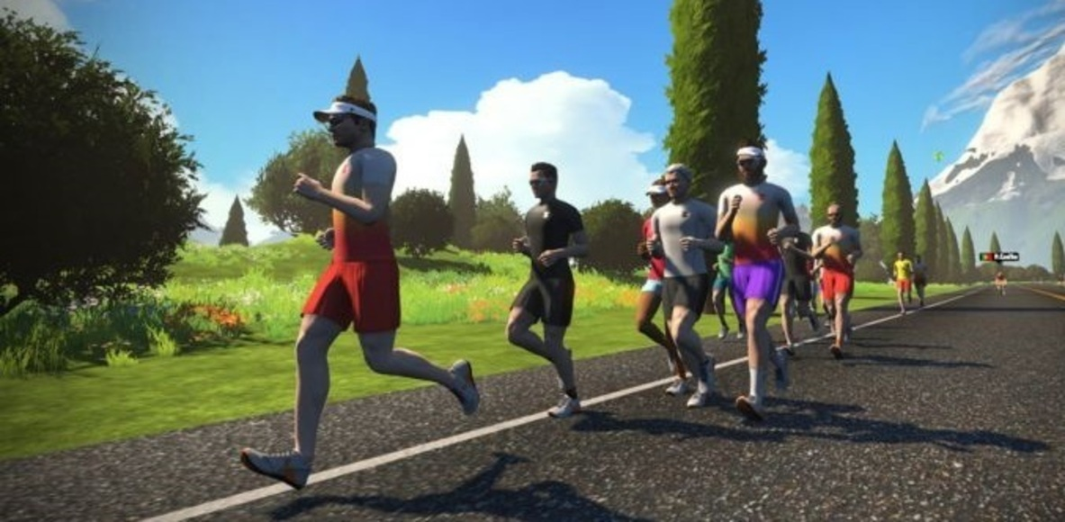 Zwift Runners Japan