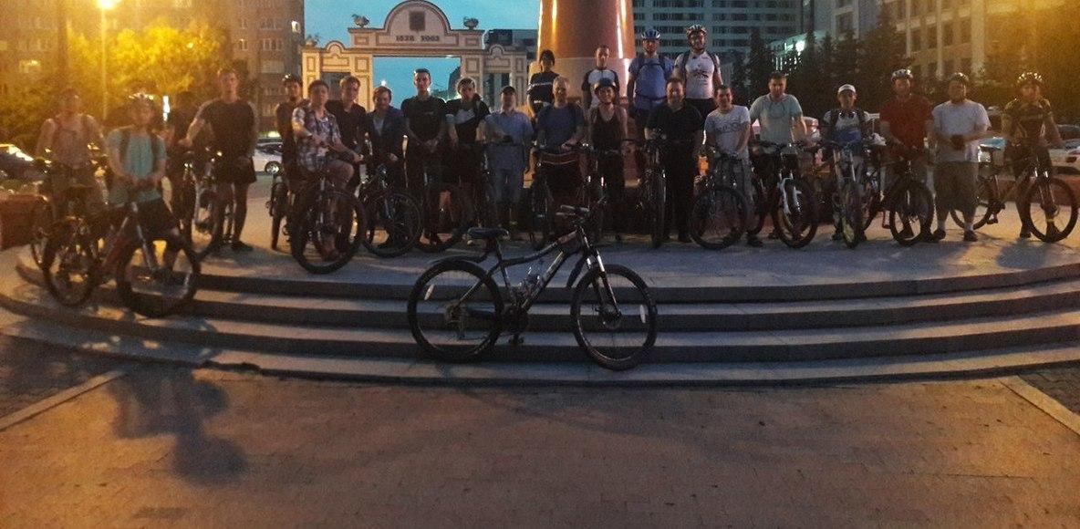 Пятничные велопрогулки в Красноярске