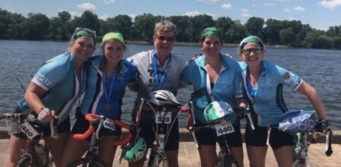 Eastern Iowa JDRF Ride Team