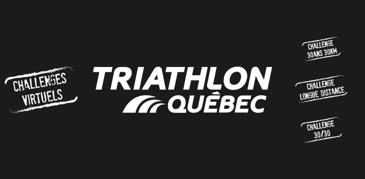 Challenges Virtuels Triathlon Québec