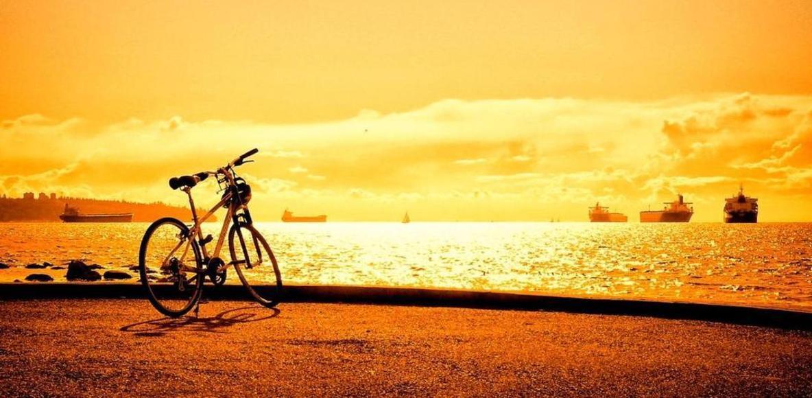 enjoying cycle