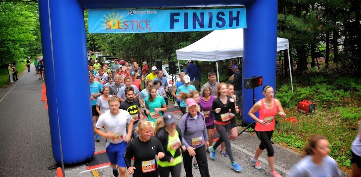 Glen Arbor Solstice Half Marathon  5K