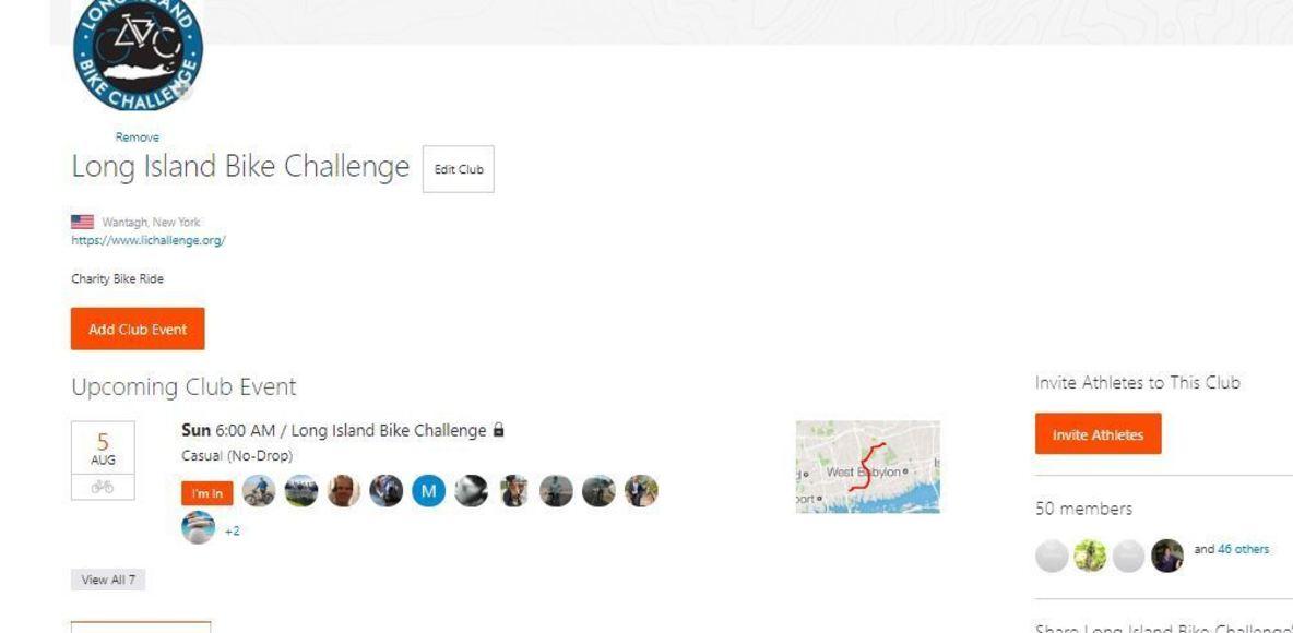 Long Island Bike Challenge