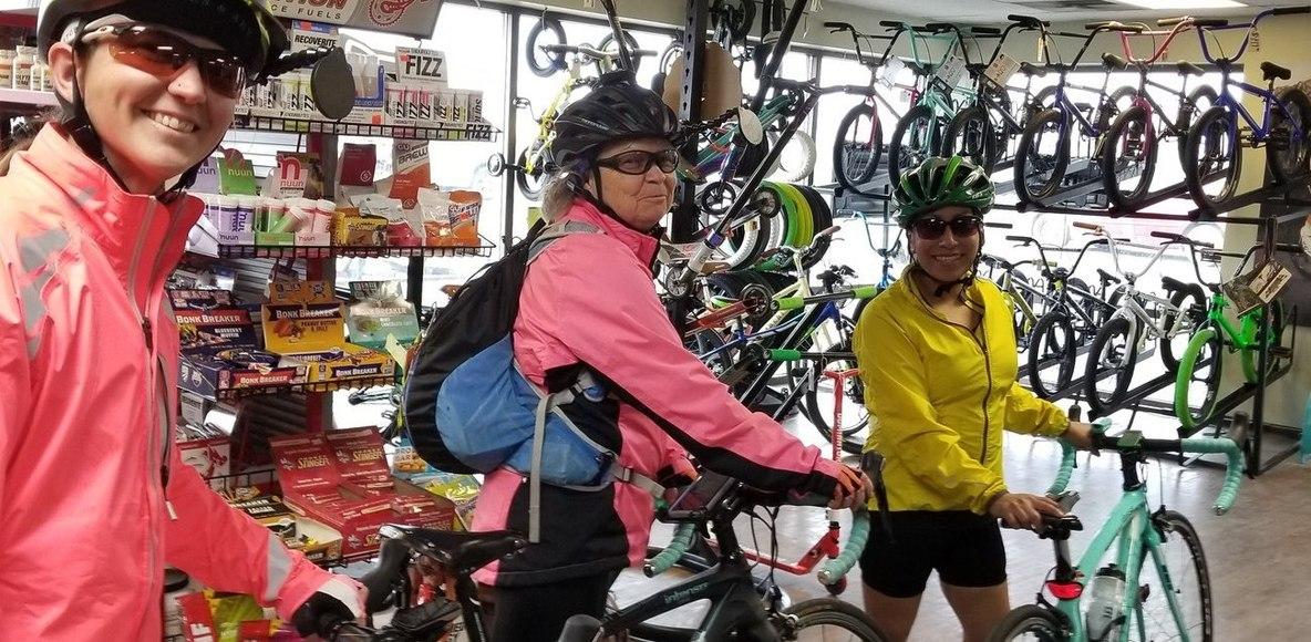 Scott's Cycle Women's Wednesdays