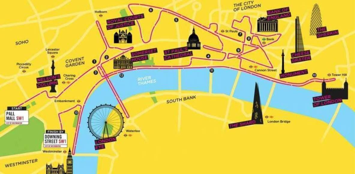 Team Theo London Landmarks 2019