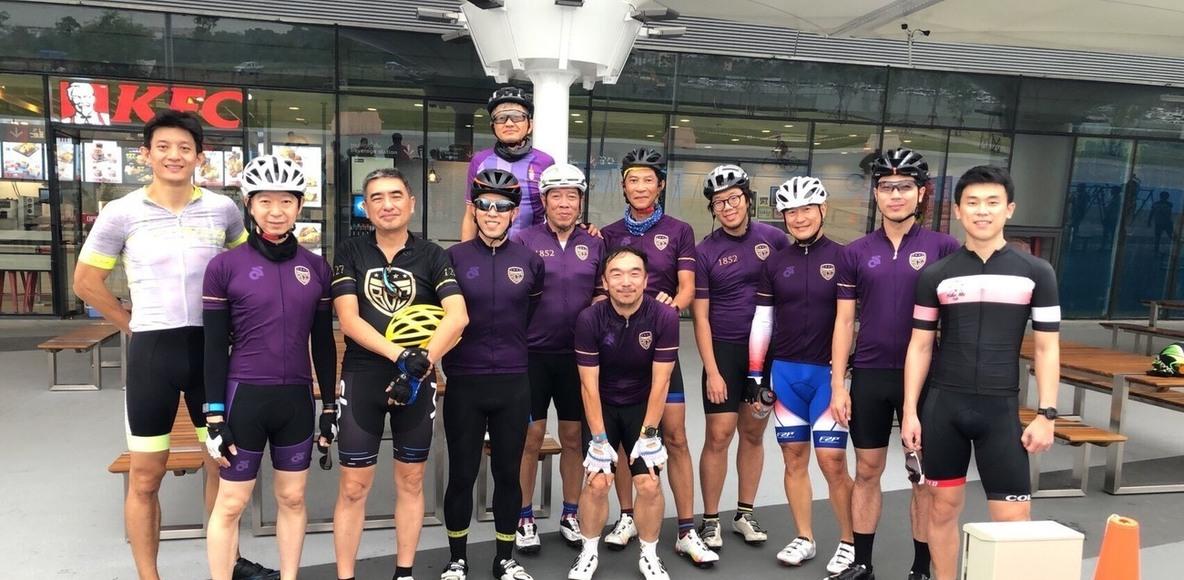 BCC Cycling Club ทีมสีเหลือง2018