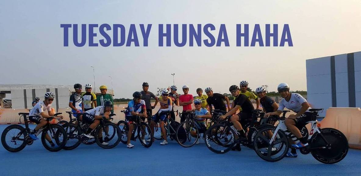 """""""MHC""""mars hansaa cyclist.อังคาร หรรษา"""