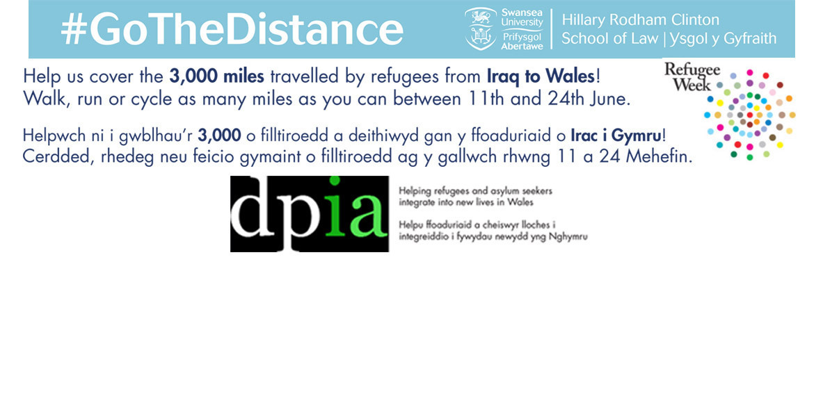 Go the Distance for Refugees