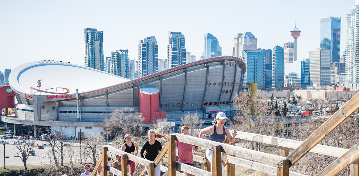 lululemon run club: calgary