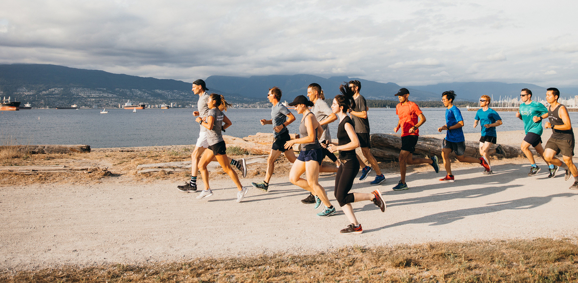 lululemon run club: vancouver