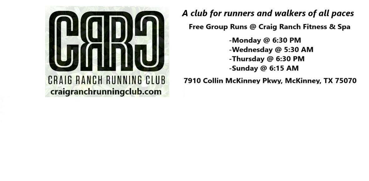 Craig Ranch Running Club