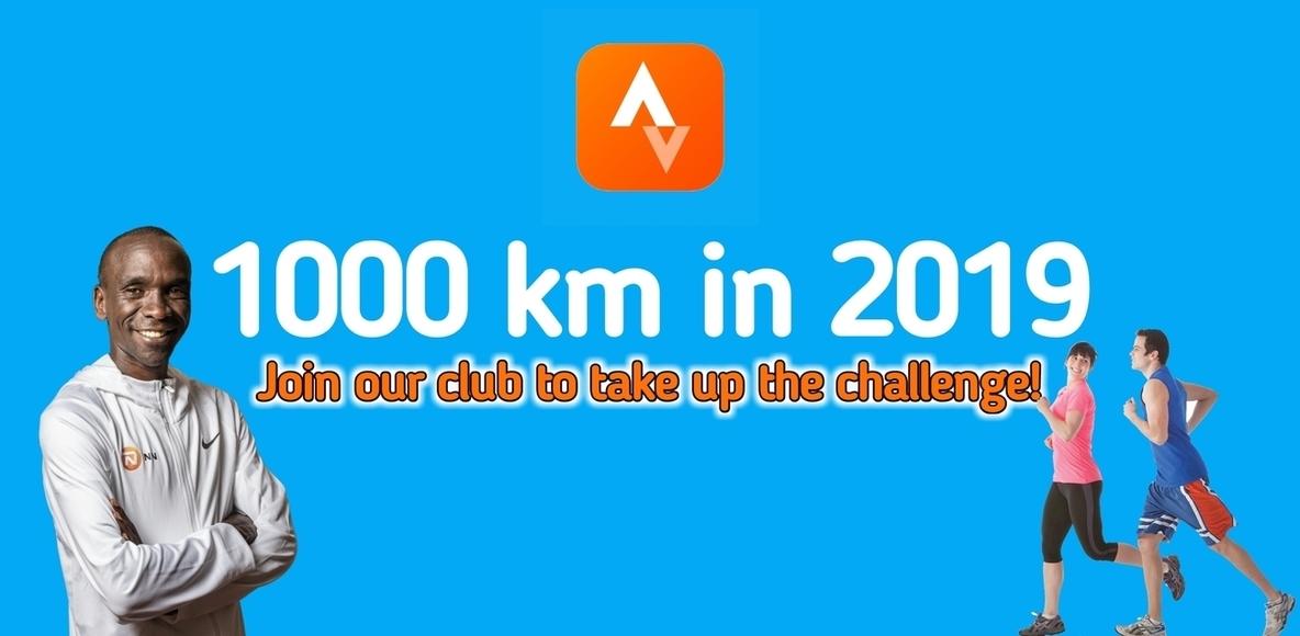 1000 km in 2019