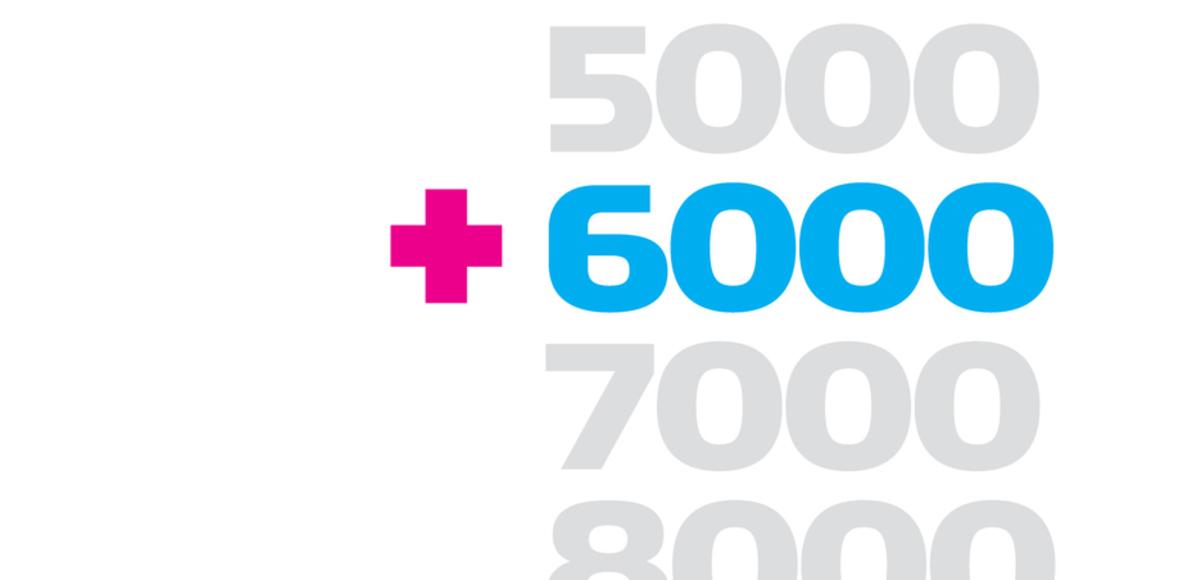 6000 km in 2019