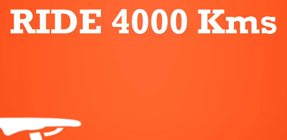 Ride 4000 Kms Challenge