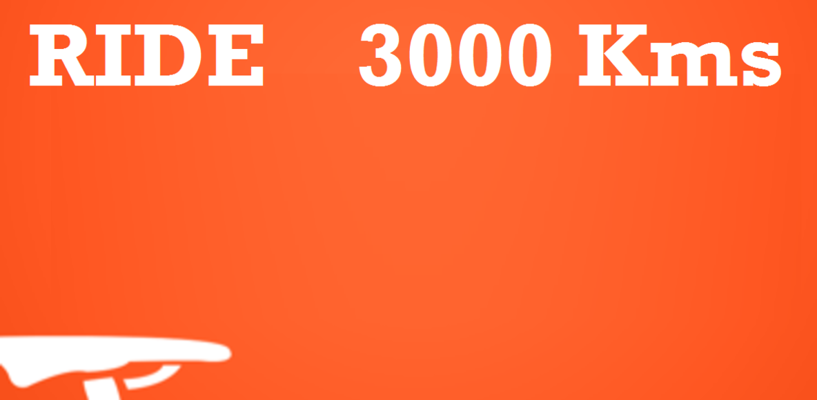 Ride 3000 Kms Challenge