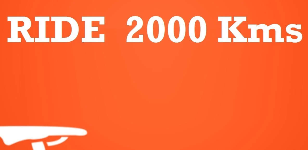 Ride 2000 Kms Challenge