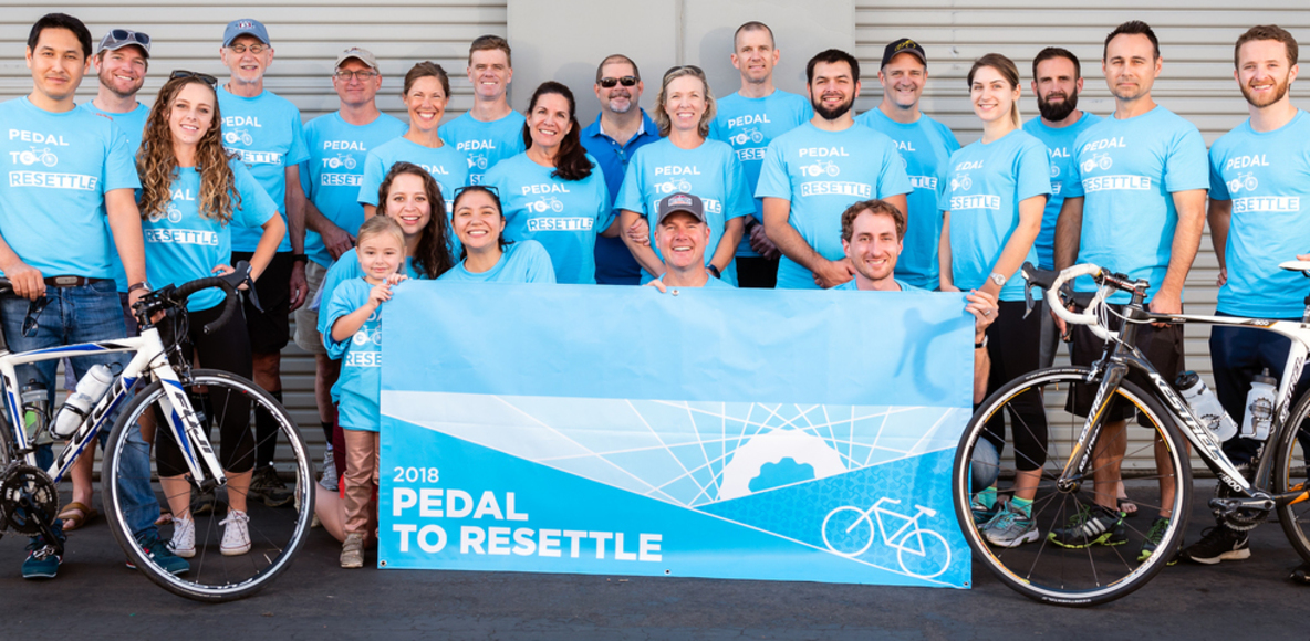 Pedal to Resettle