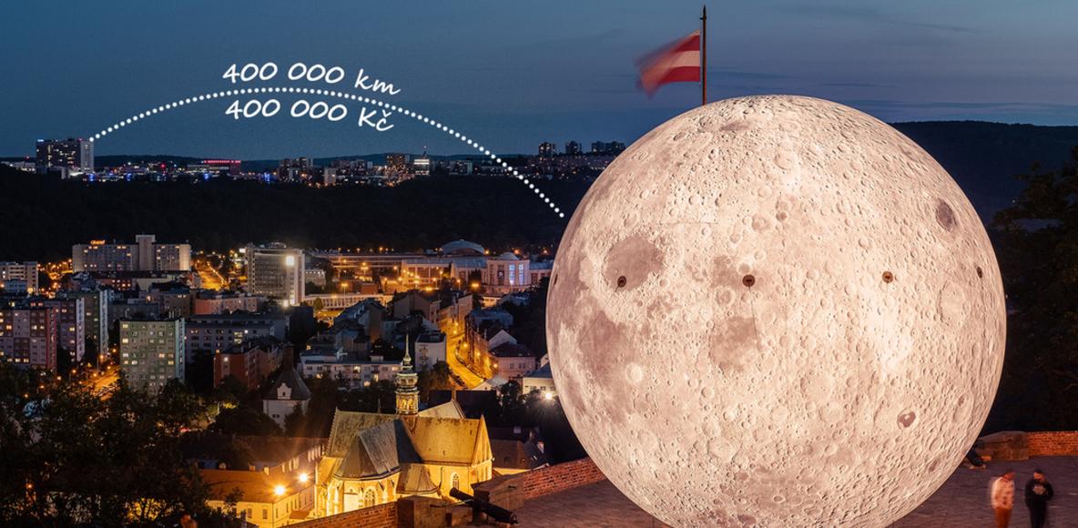 Jedeme s krtkem na Měsíc! Podpořte Nadační fond dětské onkologie Krtek.