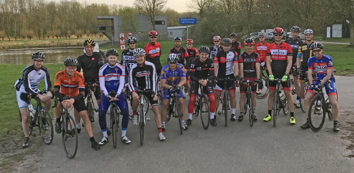 Wielrennen Almere