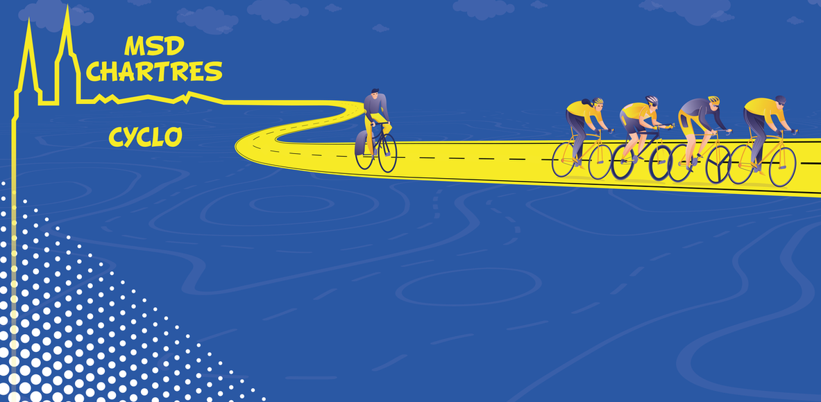MSD Chartres - Cyclos sans frontières