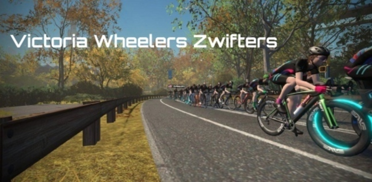 Victoria Wheelers Zwift Riders