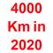 4000 km in 2020