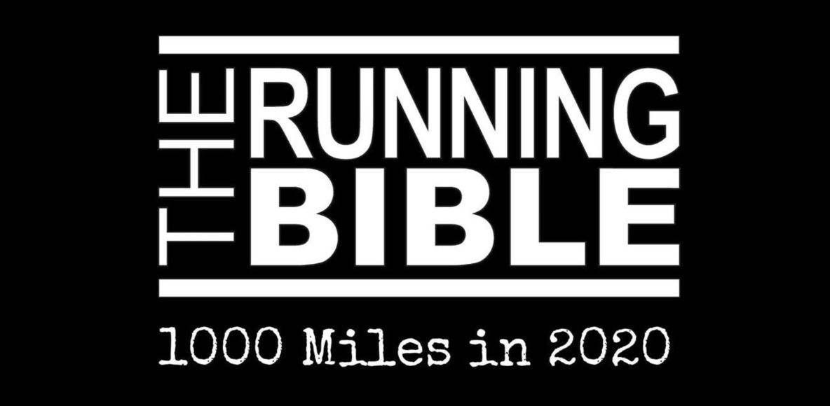 The Running Bible 1000 Miles in 2020