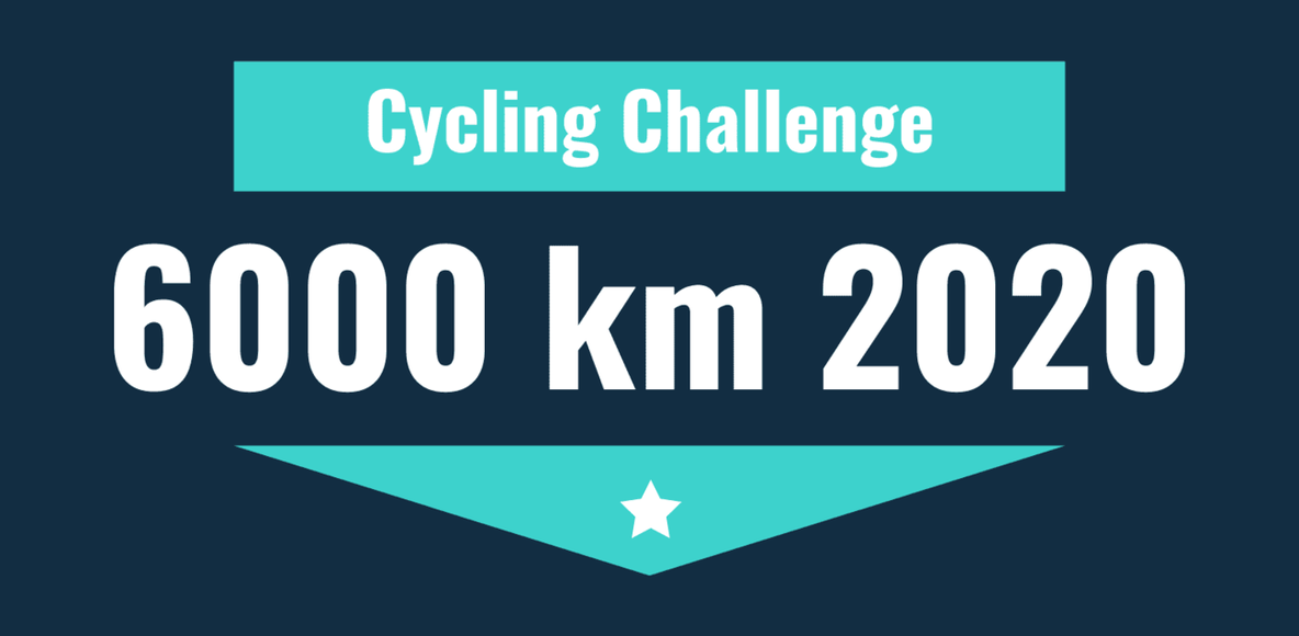 6000 Km 2020 'Cycling Challenge'
