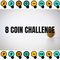 8 Coin Challenge 2020