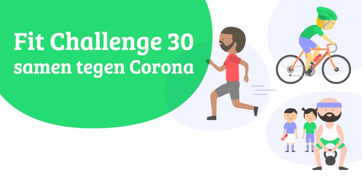 Fit Challenge 30 samen tegen Corona