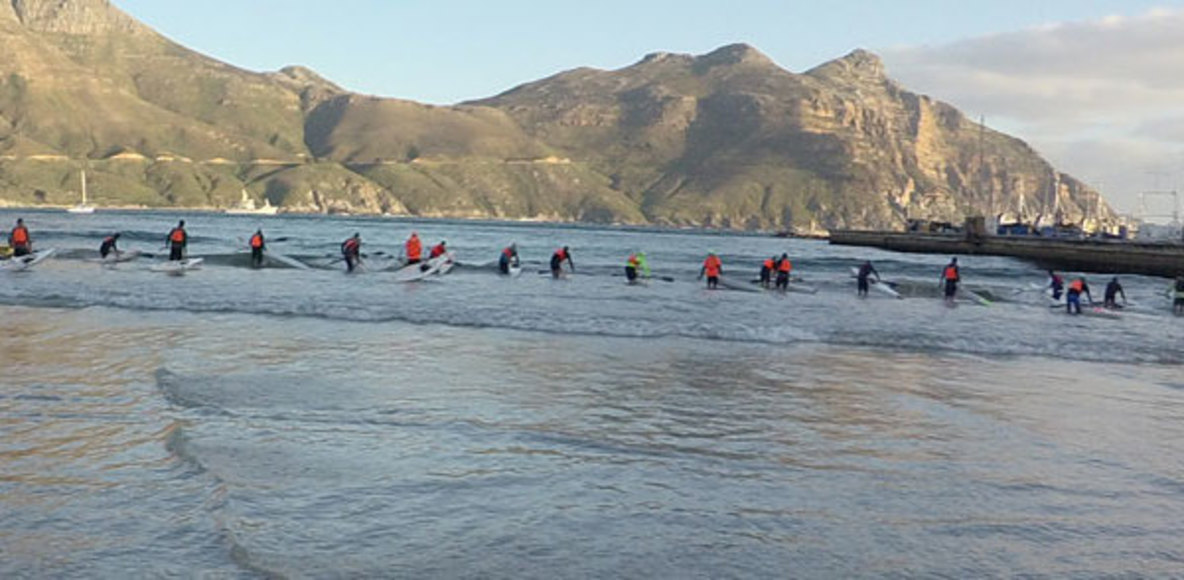 Hout Bay Tuesday Surfski Series