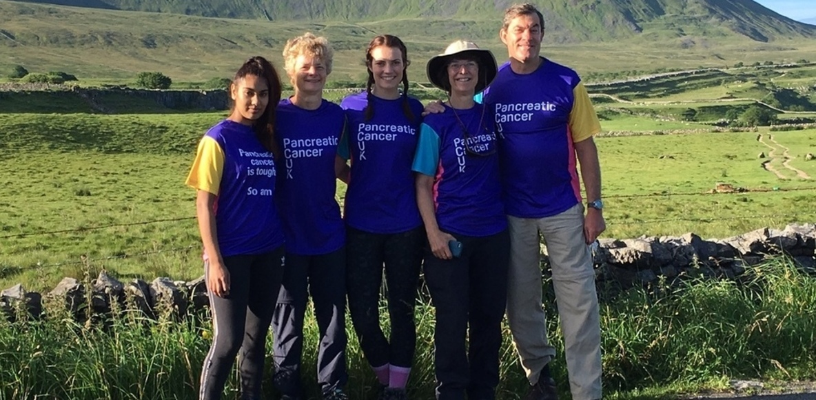 Pancreatic Cancer UK Walkers