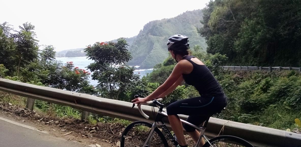 MAUI cycling group
