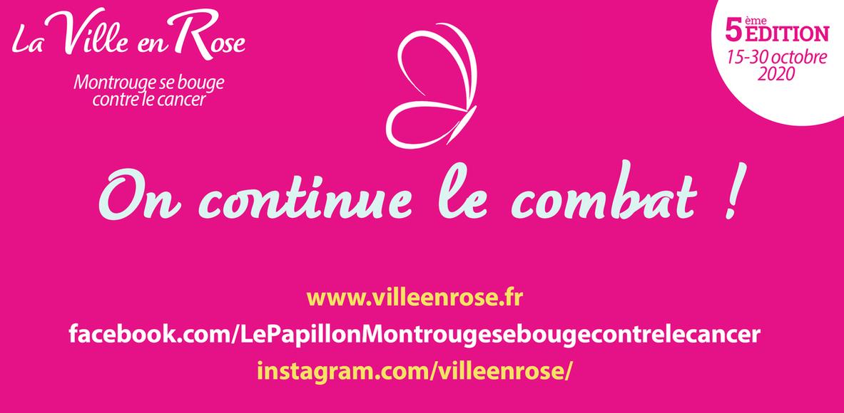 La Ville en Rose - Montrouge se bouge contre le cancer