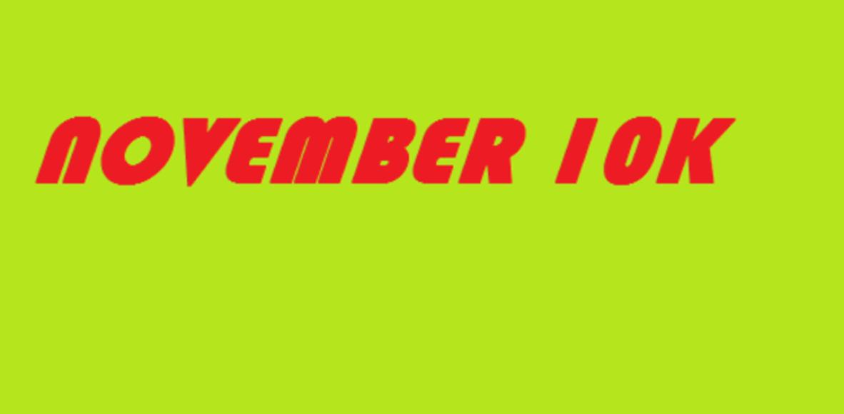 November 10K